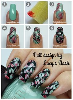 Lucy's Stash Nail Art: Photo