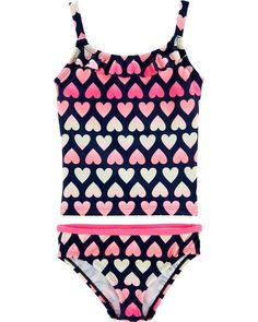 d670f19f1a Little girl swimsuits · OshKosh Heart Tankini from OshKosh B gosh. Shop  clothing  amp  accessories from a