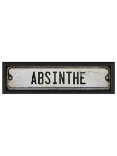 Absinthe by Artwork Enclosed on Gilt Home