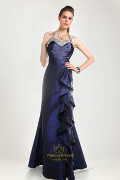 royal blue pageant dresses | ... Dresses Royal Blue Halter Prom Dress,Royal Blue Prom Dresses 2013