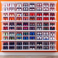Men's Drop-Front Shoe Box | The Container Store