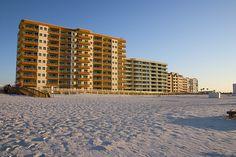 Condos along the beach in Orange Beach Alabama