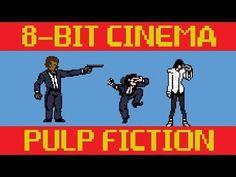 Pulp Fiction As An 8-Bit Video Game