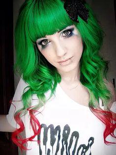 Inspiração de cores de cabelo