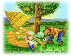 Kids Pages - The Three Little Pigs