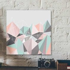placa hill of diamonds pastel