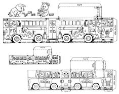 richard scarry halloween coloring pages - photo#17