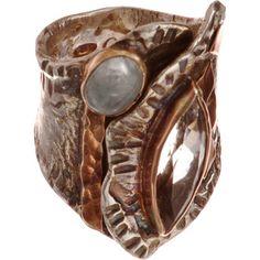 Sandra Dini Rutilated Quartz & Aquamarine Ring at Barneys.com