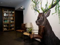 We #love the #creativity at RENT24'S #coworkingspace in #Berlin 💚 @rent24_official #coworking #rent24 #community #workspace #modern #office #officeinspiration #officestyle #officelife #startup #deutschland #goodvibes #interiordesign #design #art #decor #wallart #mural #nature #animals #earth #colors #photography #officedropin Design Art, Interior Design, Coworking Space, Nature Animals, Office Fashion, Office Ideas, Art Decor, Berlin, Moose Art
