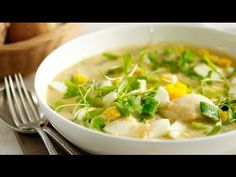 Smoked Haddock Chowder - Marco Pierre White recipe video for Knorr Chef Recipes, Fish Recipes, Soup Recipes, Great Recipes, Cooking Recipes, Cooking Ideas, Healthy Meals To Cook, Easy Meals, Healthy Eating