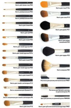 What makeup brushes for what is right?- What makeup brushes to use correctly 0 - Natural Makeup Tips, Makeup 101, Makeup Guide, Lip Makeup, Beauty Makeup, Diy Beauty, Beauty Skin, Homemade Beauty, Face Beauty