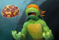 Mikey wants Pizza