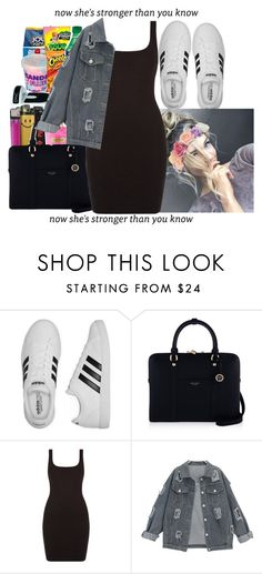"""""""BodyCon"""" by papilucas ❤ liked on Polyvore featuring adidas and Henri Bendel"""