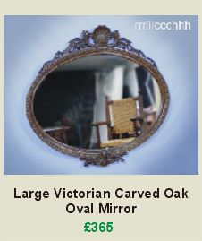 A gorgeous large Antique Victorian carved oak oval mirror  Exquisite carved oak frame with fabulous carved oak scallop shell and acanthus detail to crest and mirror base  Has the original backing boards, is strung and ready to hang
