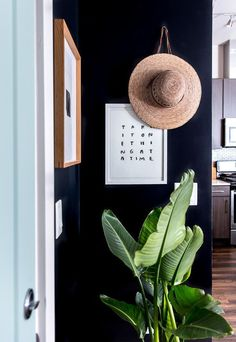 Check out this minimal modern entryway makeover for before and after home inspiration. And use the step by step instructions to mimic this look at home.