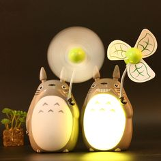 My Neighbor Totoro LED Fan #mynrighbortoro #totoro #kawaii #anime #studioghibli…