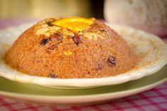 Χαλβάς Σιμιγδαλένιος χωρίς ζάχαρη. Όλο γλύκα, θρέψη και νοστιμιά στο φουλ! | HuffPost Greece Muffin, Breakfast, Food, Tasty, Morning Coffee, Eten, Cupcakes, Muffins, Meals