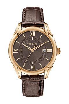 Versace Men's Apollo Brown Watch on HauteLook