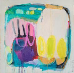 "Saatchi Art Artist: Claire Desjardins; Acrylic 2013 Painting ""Pantry Browsing"""