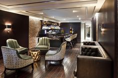 11 Fancy Hotel Bars For Your Next Cocktail Date #refinery29  http://www.refinery29.com/dc-hotel-bars#slide-8  Tucked away beneath The Graham's lobby, A.G.B restaurant and lounge is another prime Georgetown spot for unwinding with a drink. Dark wood floors, lots of leather, and moody lighting make it ideal for a first date or a relaxing pit stop after a day of shopping. A.G.B. Lounge at The G...