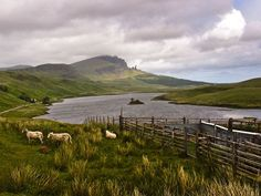 I'd love to walk through Scotland and Ireland...and meeting Gerard Butler on the way would be nice.