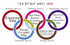 TCA Spirit Week