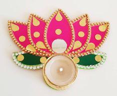 Weather Festival, Diwali Pooja, Diwali Diya, Clothing Size Chart, Tea Light Candles, Tea Lights, Indian Rangoli, Altar Decorations, Hindu Temple