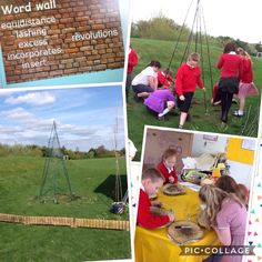 """Great example here of activating vocabulary within a real (and engaging) context.  BVS Year 5 on Twitter: """"More language learning in the garden room. Analysing meaning and synonyms whilst erecting a sweet pea teepee 🌱"""