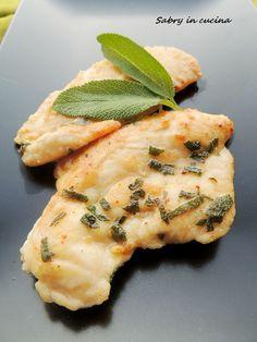 Petto di pollo al limone Italian Recipes, Vegan Recipes, Vegan Food, Yummy Eats, Chicken Recipes, Food And Drink, Salvia, Breakfast, Ethnic Recipes