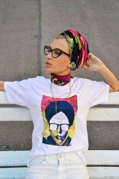 Eva Ana Kazic ALLAROUNDEVE wearing her Revolver Heart shirt, now ...