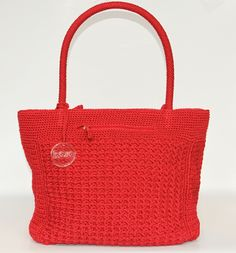 Red Vaniya Crochet bag IDR 300.000 #Fashion #Style #Bags #Crochet #Leather…