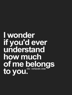 Do you know? I would try to explain it to you, but I don't think there are enough words.