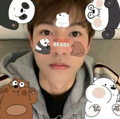 Huang Renjun, We Bare Bears, Kpop, Film Posters, Jaehyun, Nct Dream, Nct 127, Boy Bands, Baby Squirrel