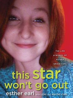 """This Star Won't Go Out Foundation - """"This Star Won't Go Out"""".  Should you want your heart broken for all the right reasons..."""