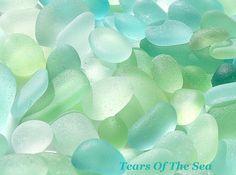 Aqua Seafoam Sea Glass Sea Glass Jewelry By Tears Of The Sea www.tearsofthesea.com