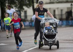 You can walk, jog or run the iconic Bupa Westminster Mile with your young ones in the special family categories on Sunday 24th May 2015.  #WestminsterMile #Running #MayBankHoliday #ThisGirlCan