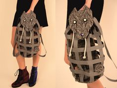 Grey Wolf BackPack, GOES To M