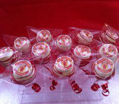 Manchester United #Cake #Pops #cakepops #wickedpops