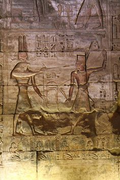 Templo de Sethi I en Abidos , Primera Sala hipóstila . Abydos | por Soloegipto