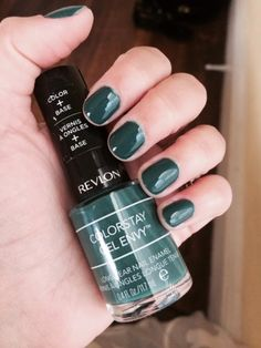 Revlon Colorstay Gel Envy - High Stakes: forest green camo shade