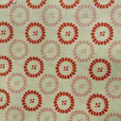 Moda Fandango Coral by Kate Spain 27046 Circles Dots BTY Fabric Quilting New