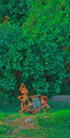 Disney Pixar Movies, Disney Villains Art, Disney Magic, Disney Art, Lucas Movie, Boy Fishing, Character Wallpaper, Wallpaper Iphone Disney, Movie Titles