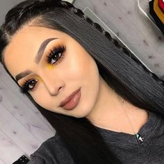 U-Part Lace Front Wigs Brazilian Human Hair straight Long Wigs Prom Makeup Looks, Cute Makeup, Glam Makeup, Gorgeous Makeup, Party Makeup, Hair Makeup, Fall Makeup Looks, Awesome Makeup, Cheap Makeup