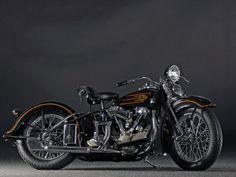 1937 Harley Davidson ELS Knucklehead