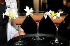 Making this tonight!     Hana Martini Recipe:  X-Rated Fusion, fruit-infused vodka liqueur  Malibu Rum  Peach Schnapps  Chambord, raspberry liqueur  Pineapple juice