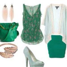 green fashion ideas - Bing