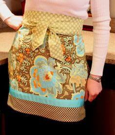 Quilt Inspiration: Free pattern day: Aprons