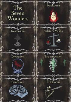 The 7 Wonders AHS | via nedre carter