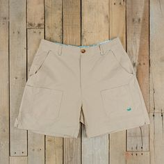 Southern Marsh Tarpon Flats Fishing Short in Audubon Tan Fishing Shorts, Southern Marsh, Casual Shorts, Flats, Low Country, Shopping, Collection, Fashion, Loafers & Slip Ons