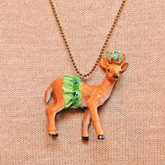 DIY party animal necklaces!  This is my favorite pin ever - you have to see all her amazing examples!